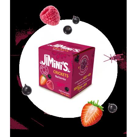 Krekels rood fruit
