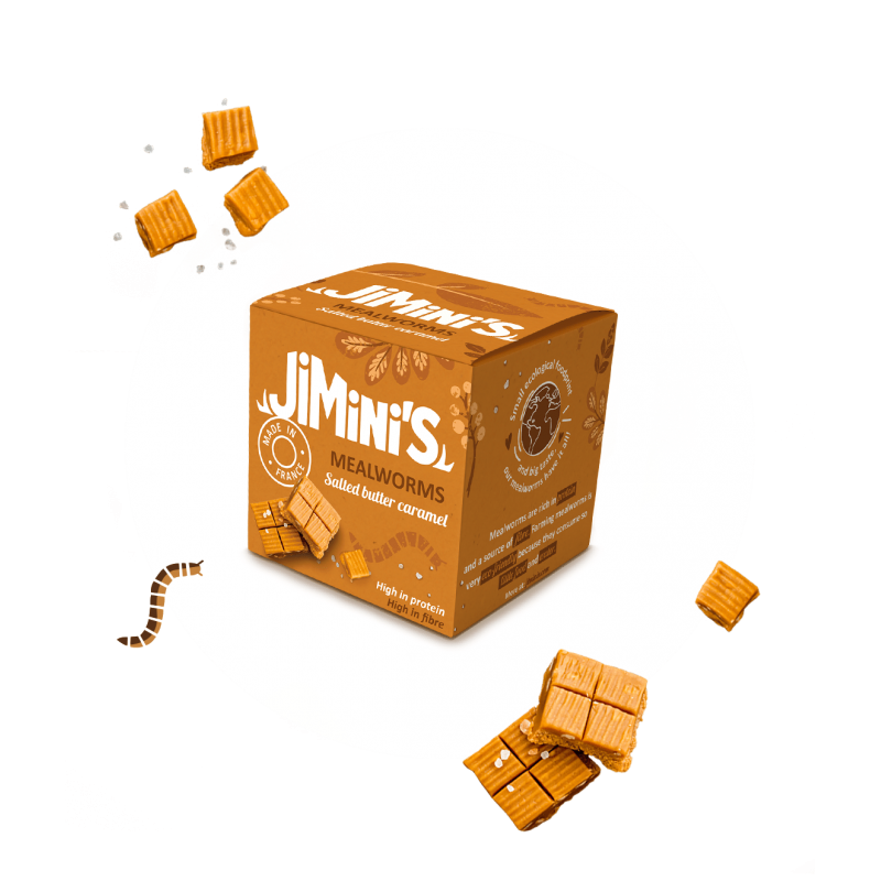Mealworms salted butter caramel