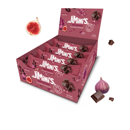 Vijg en chocolade proteïne...